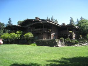 The Gamble House, at Orange Grove and Prospect