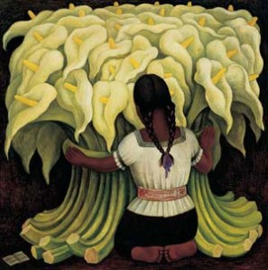 Flower Vendor, Diego Rivera